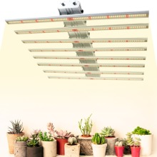Phlizon White Color 400W Led Grow Light Bar