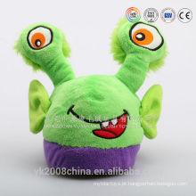 Fábrica de brinquedos de pelúcia de personalização OEM / custom chinelos de aranha de pelúcia