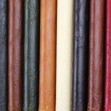 Venta al por mayor Craqueado grano de aceite de cera PVC Artificial Sofa Leather (908 #)