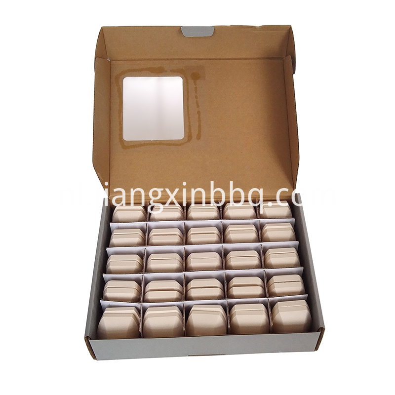 50 Count Ceramic Briquettes Opening View