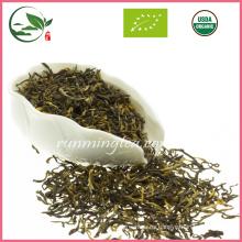 Té negro orgánico de Yunnan de la venta caliente de la venta