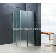 Cuarto de ducha temperado con puerta plegable (SE-210)