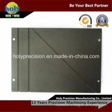 CNC подвергал алюминиевое основание плиты