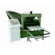 Máquina formadora de rollos de cubierta de acero de panel de tablero de piso