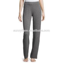 Casual porter des pantalons de cachemire pur pour les femmes