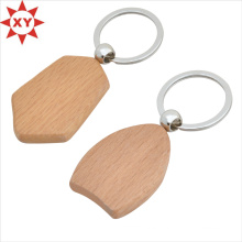 Wooden Promotion Wall Key Holder with Key Ring