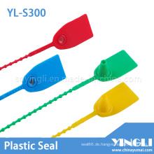 Kundenspezifische Einweg-Kunststoffetikettendichtung (YL-S300)