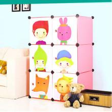 Gabinete de armazenamento de bebê Gabinete de armário portátil