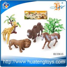 2014 Wholsale kleine Plastik wild lebensechte Tierfigur, Harz Tierfiguren Spielzeug H133615