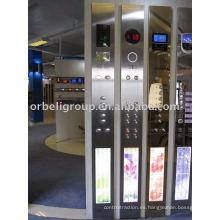 Panel de operaciones Hall de ascensor (HOP, COP, LOP), Partes de elevación