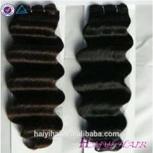 Fabrik Haar Großhandel Top-Qualität Menschenhaar letzte lange Virgin Eurasian Deep Wave Haar
