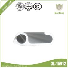 Perfil de aluminio Cortina lateral Poste Tipo AE