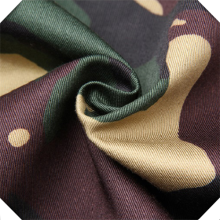 Cotton Twill Fabric For Military Camonflage Uniform