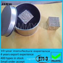Strong manetic cube neodymium magnet