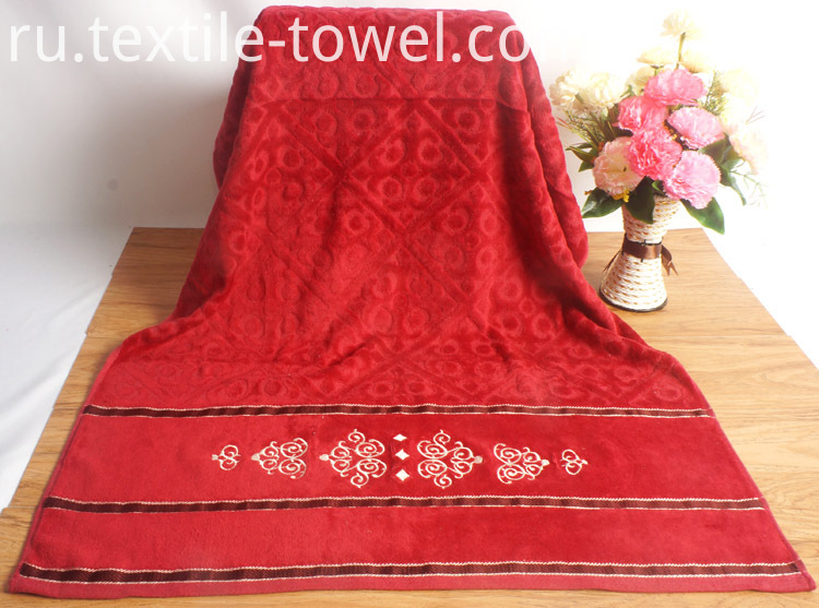 Red Bath Towels