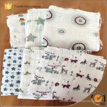 Boa Qualidade Cobertor de bebê recém-nascido, cobertor de vison de algodão