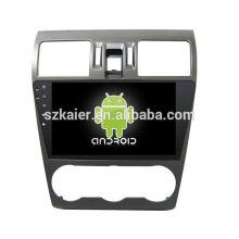 ¡Cuatro nucleos! DVD de coche Android 6.0 para FORESTER 2014 con pantalla capacitiva de 9 pulgadas táctil / GPS / Mirror Link / DVR / TPMS / OBD2 / WIFI / 4G