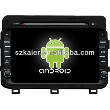 Android system dual core auto dvd player für KIA 2014 K5 / Optima mit GPS / Bluetooth / TV / 3G / WIFI