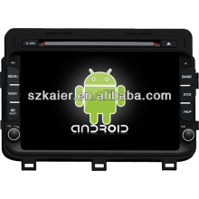 Reproductor de DVD de coche de doble núcleo con sistema Android para KIA 2014 K5 / Optima con GPS / Bluetooth / TV / 3G / WIFI