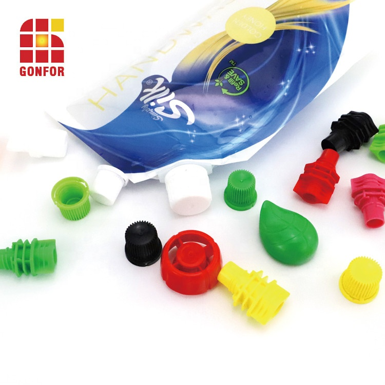 Custom Detergent Liquid Packaging Stand Up Pouch With Cover
