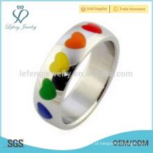 Anéis de casamento novos do orgulho gay, anéis da promessa gay, lojas alegres