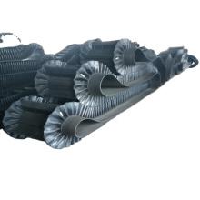 Vertical Corrugated black color steel material chip conveyor belt rubber conveyor sidewall belt