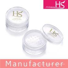 Wholesale cosmetic plastic loose powder jars