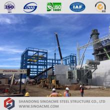 Bâtiment industriel préfabriqué en métal de grande hauteur