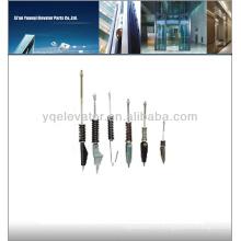 Fermeture à cordes soudée pour élévateur, attaches à câble d'ascenseur