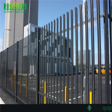 Europe Decorated Garden Fence PVC Coated Palisade Fence