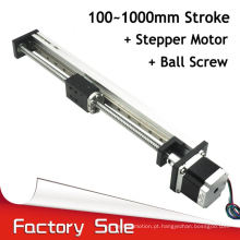 easy operation aluminium cnc linear guide rail for engraving
