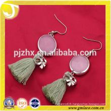 China Supplier Bride Wedding Dressing Costumes Lovely Tassel Earring