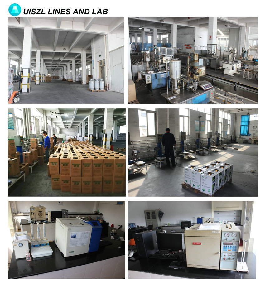 Good Quality refrigerant gas Factory