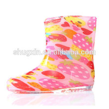 botas de lluvia corta zapatos niños zapatos niños niños C-705
