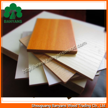 2.5mm-25mm Melamine MDF Board Prices / MDF