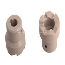 PEEK machined part CNC lathe turning
