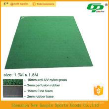 Противоскользящая подставка искусственная трава для гольфа качели коврик б/у коврики в гольф/мини-гольф зеленый