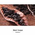 Hongo negro seco Agárico orejero de madera negro de CHINA