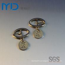 Hebillas Oval Pin para la correa de la sandalia de las mujeres