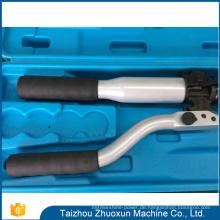 Hoch entwickelter Technologie-Gangabzieher-Stahlhandbetriebener Kräuselungsmaschinen-hydraulischer Kabel-Schneider für Indien-Markt