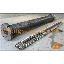 Zyt419 Parallel Twin Screw Barrel for Extruder Machine