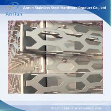 Mur rideau perforé en aluminium pour décoration