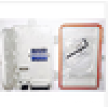 Boîte à bornes à fibres optiques, Paroi extérieure Fiber Wall / Panneau de distribution, boîte à bornes 4Cores FTTH
