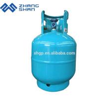 Yuhang Zhangshan fabricant 9 kg de bouteille de gaz GPL à bas prix