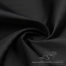 Water & Wind-Resistant Outdoor Sportswear Down Jacket Woven Zig-Zag Wave Jacquard 100% Cordon Yarn Polyester Filament Fabric (X062)