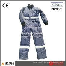 Winter Coverall Warm Garmen Jtumpsuit Mens Safety Freezer Suit