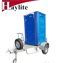 Remolque móvil del lavabo del tocador portátil de China en venta