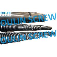 Parafuso cônico duplo de qualidade bimetálico e cilindro