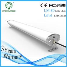 Luz impermeável da Tri Prova do diodo emissor de luz de 2FT / 4FT / 5FT para o parque de estacionamento do carro
