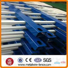 China Popular high security steel fence (ISO9001)